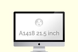 iMac met modelnummer A1418