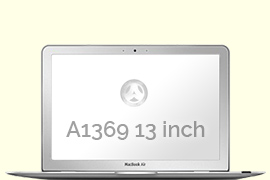Opengeklapte Macbook Air 13 inch