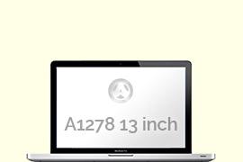 Opengeklapte Macbook Pro A1278
