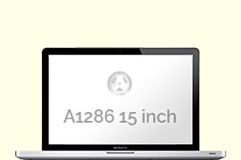 Opengeklapte Macbook Pro A1286