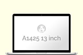 Opengeklapte Macbook Pro Retina 13 inch
